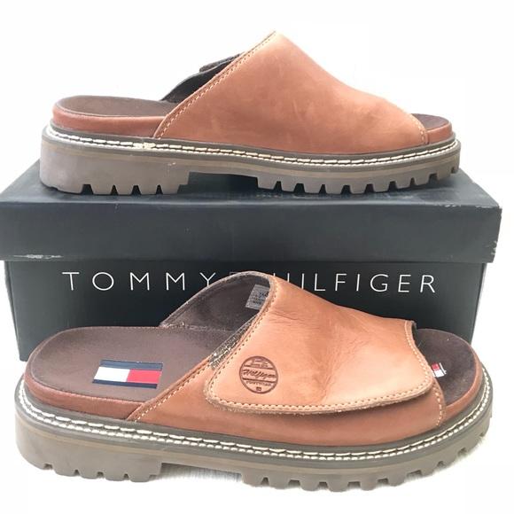 a7493f295c8dff Tommy Hilfiger Union Slide Sandal. M 5b43be7d45c8b345358e1a9d